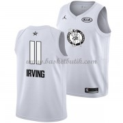 Boston Celtics Kyrie Irving 11# Vit 2018 All Star Game NBA Basketlinne..